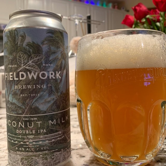 The Best Coconut Beer In The World – Fieldwork Coconut Milk DIPA
